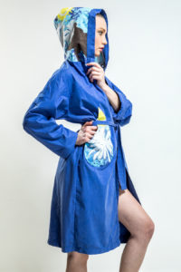 Bathrobe Blue