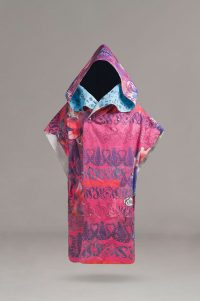 Poncho Pink Front