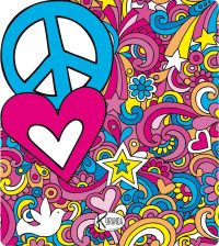 Beach Towel Telo Mare Love & Peace
