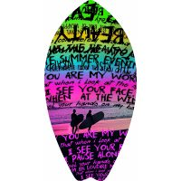 Beach Towel Telo Mare Words