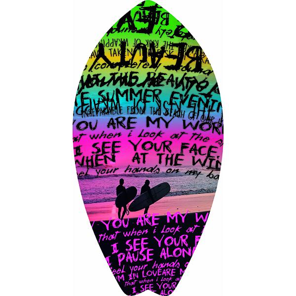 Beach Towel Telo Mare Words