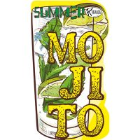 Limited Edition Beach Towel Mojito / Telo Mare Limited Edition Mojito / K-LED-MOJI