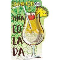 Limited Edition Beach Towel Pina Colada / Telo Mare Limited Edition Pina Colada / K-LED-PINA
