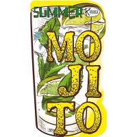 Shaped Beach Towel Mojito Telo Mare Sagomato Mojito