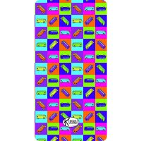Beach Towel Traffic / Telo Mare Traffic / K-BIG-TRAF