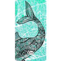 Beach Towel Whale / Telo Mare Whale / K-BIG-WHAL