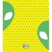 Double Beach Towel Alienato / Telo Mare Double Alienato / K-DOU-ALIE