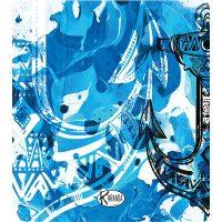 Double Beach Towel Blue Steel / Telo Mare Double Blue Steel / K-DOU-BLUE