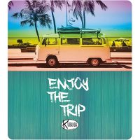 Double Beach Towel Enjoy The Trip / Telo Mare Double Enjoy The Trip / K-DOU-ENJO