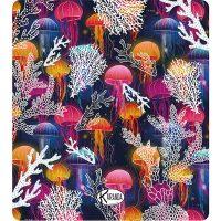 Double Beach Towel Jelly Fish / Telo Mare Double Jelly Fish / K-DOU-JELL