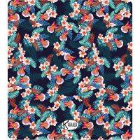 Double Beach Towel Orchidblue / Telo Mare Double Orchidblue / K-DOU-ORCB