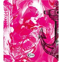 Double Beach Towel Pink Steel / Telo Mare Double Pink Steel / K-DOU-PINK