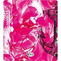 Double Beach Towel Pink Steel / Telo Mare Double Pink Steel / K-DOU-PINK