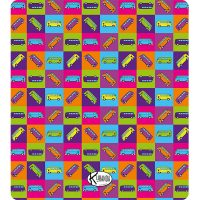 Double Beach Towel Traffic / Telo Mare Double Traffic / K-DOU-TRAF