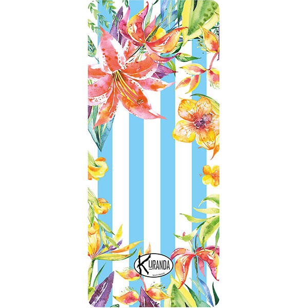Standard Beach Towel Jungle Stripes / Telo Mare Standard Jungle Stripes / K-STA-JUNG