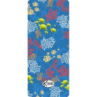 Standard Beach Towel Blue Reef / Telo Mare Standard Blue Reef / K-STA-REEB