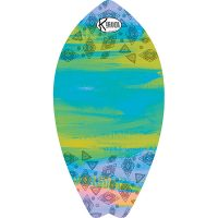Surf Shaped Beach Towel Aurora / Telo Mare Forma Surf Aurora / K-SUR-AURO