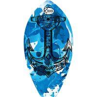 Surf Shaped Beach Towel Blue Steel / Telo Mare Forma Surf Blue Steel / K-SUR-BLUE
