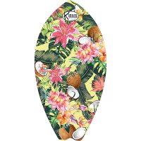 Surf Shaped Beach Towel Cocco / Telo Mare Forma Surf Cocco / K-SUR-COCC
