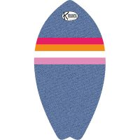 Surf Shaped Beach Towel Denim Pilot / Telo Mare Forma Surf Denim Pilot / K-SUR-DENI