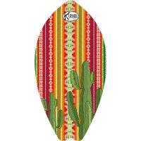 Surf Shaped Beach Towel Euphorbia / Telo Mare Forma Surf Euphorbia / K-SUR-EUPH