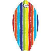 Surf Shaped Beach Towel Eva Stripes / Telo Mare Forma Surf Eva Stripes / K-SUR-EVAS