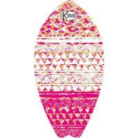Surf Shaped Beach Towel Granatina / Telo Mare Forma Surf Granatina / K-SUR-GRAN