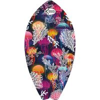 Surf Shaped Beach Towel Jelly Fish / Telo Mare Forma Surf Jelly Fish / K-SUR-JELL