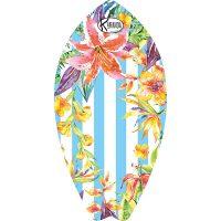 Surf Shaped Beach Towel Jungle Stripes / Telo Mare Forma Surf Jungle Stripes / K-SUR-JUNG