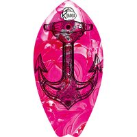 Surf Shaped Beach Towel Pink Steel / Telo Mare Forma Surf Pink Steel / K-SUR-PINK