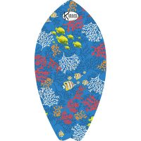 Surf Shaped Beach Towel Blue Reef / Telo Mare Forma Surf Blue Reef / K-SUR-REEB