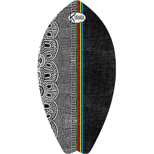 Surf Shaped Beach Towel Side / Telo Mare Forma Surf Side / K-SUR-SIDE