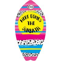 Surf Shaped Beach Towel Sunbath / Telo Mare Forma Surf Sunbath / K-SUR-SUNB