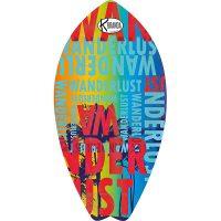 Surf Shaped Beach Towel Wanderlust / Telo Mare Forma Surf Wanderlust / K-SUR-WAND