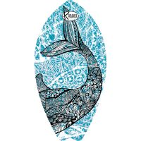 Surf Shaped Beach Towel Whale / Telo Mare Forma Surf Whale / K-SUR-WHAL